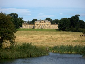 Belford Hall from Squire's Pond  photograph courtesy of John Harris