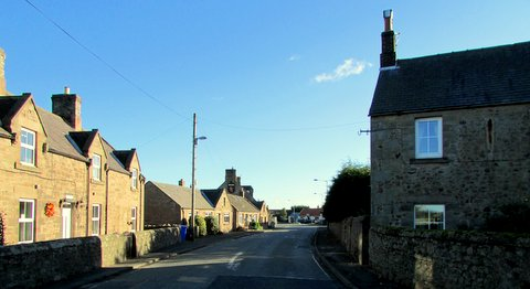 Milfield village