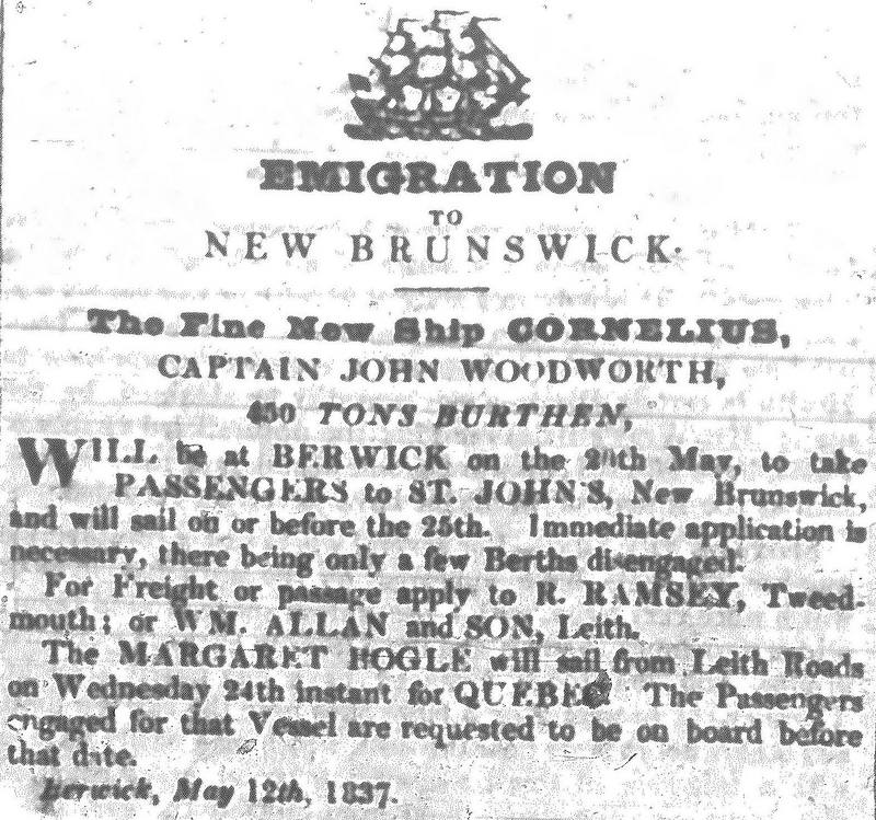 Berwick Advertiser 13 May 1837
