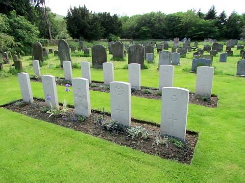 War Graves Kirk Yetholm