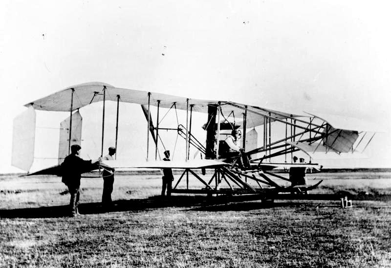 Short's first aircraft No.1 biplane 1909