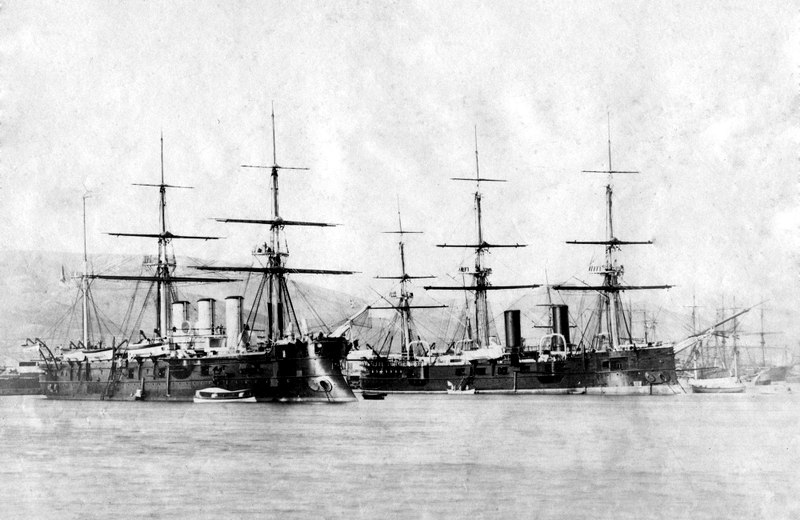Imperial Russian Fleet cruisers 1880s-1890s
