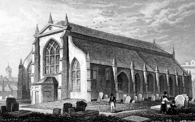 Grey Friars' Church, Edinburgh - Thomas Hosmer Shepherd