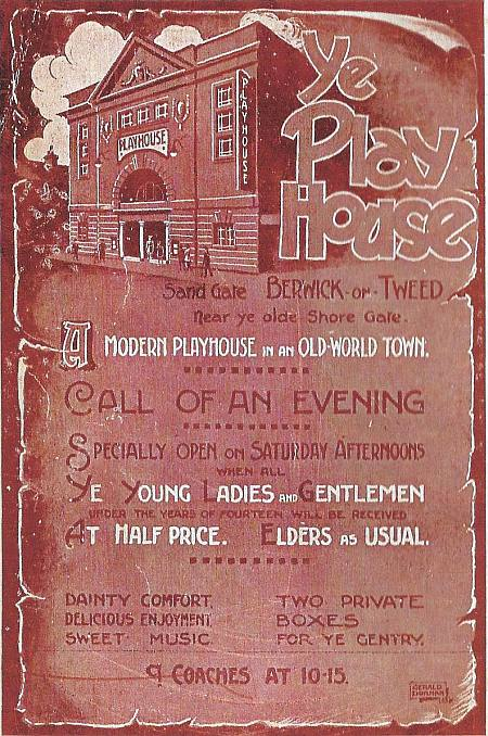 Playhouse advert 1920