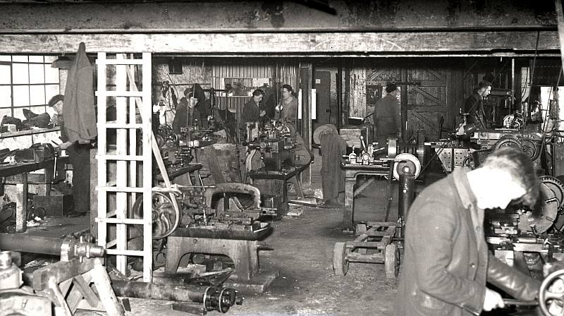 Engineering shop at Berwick Shipyard