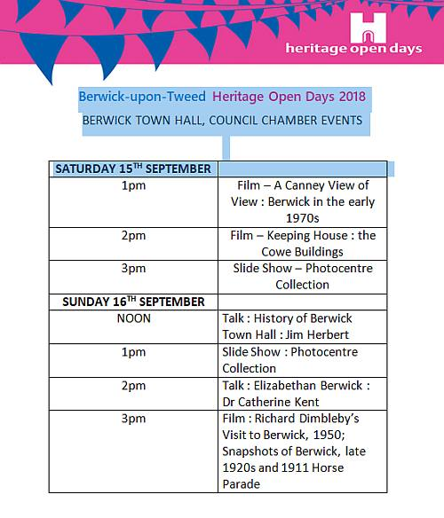 HODS Guildhall events 2018