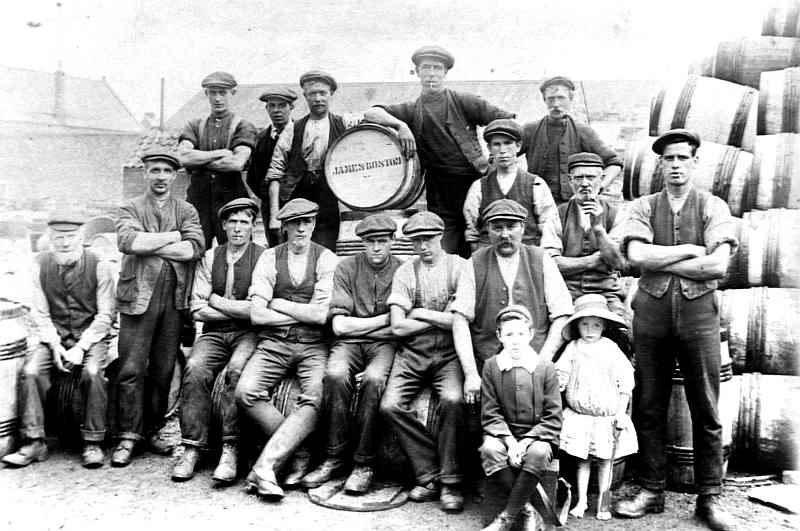 Herring workers in Spittal