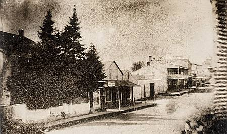 Main Street, Newmarket in 1856