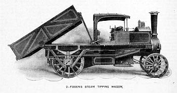 Foden Steam Tipping Wagon 1903