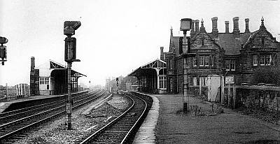 Tweedmouth Station Early 1900s
